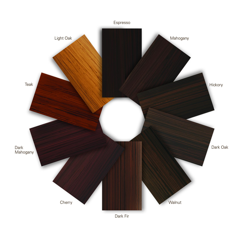 Zobel Wood Grain color wheel